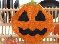 Halloween! on Pinterest | Free Pattern, Dishcloth and Crochet Patterns