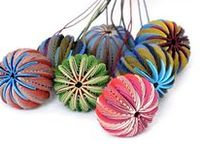 Methods and examples of making various beads, with a focus on paper beads and paper jewlery.