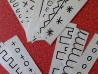 graphismes, écriture, lettres, sons