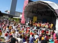 Festival 2014 / Themes, infrastructure, dressing, signage  - we did this!