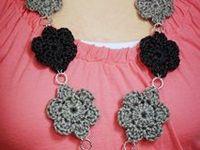 Crochet bijoux / tuto de bijoux au crochet