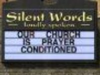 Funny and unusual church signs around the  Country
