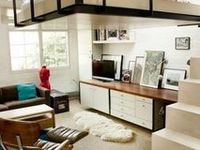 17 best images about loft beds for adults on pinterest - Hauteur sous plafond mezzanine ...