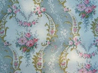 French & Vintage Wallpaper