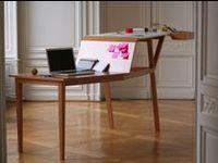 Creative workspace & workshop, desks, wood shop, craft room, inspiration board, study, desk, standing desk, leaning desk, etc.