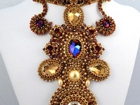 Beaded Jewelry by Artists and Bead Weavers that I admire