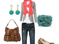 Cool summer colours Natural fashion style with a little bit of feminine touches. my body shape is an apple