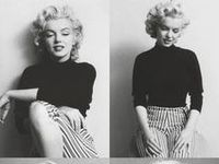 Yes, we love Audrey, but we love Marilyn too. The blonde beauty who took the world with storm. She's a colorful actress and person! /Marie