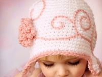 Children's crochet hats, etc.