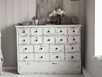 Collection of beautiful painted, distressed and chippy furniture and other bits and bobs