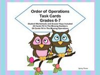 My Spring TpT Products on Pinterest | Task Cards, Early Finishers and ...