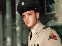 Great voice, not forgetting he looked hot in his army uniform. Elvis Presley Born on 8th January 1935 & Died on 16th August 1977.