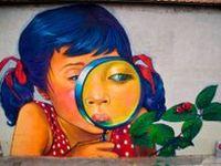 street artist in my other boards :: Axel Void ~ Banksy ~ Borondo ~ C215 ~ Coloquix ~ D*Face ~ DALeast ~ David De La Mano ~ David Walker ~ Dolk ~ Escif ~ Faith47 ~  Fin DAC ~ Fintan Magee ~ Fra Biancoshock ~ Hyuro ~ Into ~ Jana & JS ~ Jef Aerosol ~ Lonac ~ Levalet ~  Ludo ~ Pablo S.Hererro ~ OakOak ~ Pejac ~ Phlegm ~ Roa ~ Sam 3 ~ Stinkfish ~ Vhils ~ Zacharevic ~ ZED1