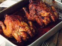 Cocinando rico pollo