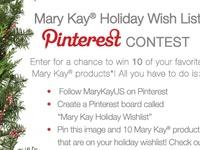 Mary Kay Holiday Wishlist