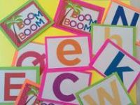 One of the big 5 ideas in literacy:  knowing the names of the letter symbols