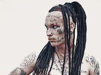 about cyberpunk on pinterest dreadlocks dreads and synthetic dreads
