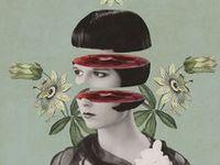 Arte collage cut