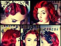 Vintage, rockabilly, and braids I love pinning these hairstyles, been practicing on my hair and can't wait to show off what I have learned from pinning all these awesome hairstyles.
