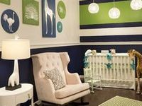 In the Nursery / Sweet baby spaces