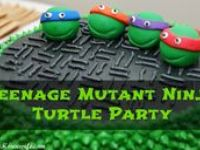 B-day Party - Ninja Turtles