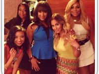 The real talk show on pinterest tamar braxton adrienne bailon and