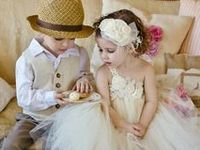 Flower Girl and Ring Barer