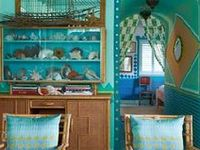Interiors with one main color. See also 'Bright interiors' and 'Polychrome interiors'