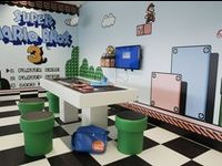 Arcade / Gamer Themed Rooms & Ideas