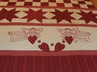 Valentine - Redwork quilts