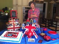 My sweet 16 :one direction !