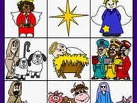 Nativities, Clipart and Scrapbooking, Poems, Crafts