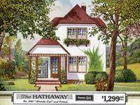 Vintage home plans and vintage color inspiration.