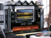 4614 best Electric Fireplaces Entertainment Centers images