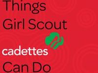 178 best cadette girl scouts images on pinterest girl
