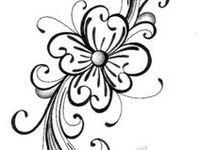 Modèles en noir et blanc