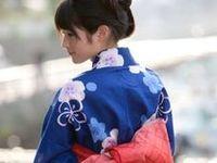 Japan, Summer Kimono (Yukata)