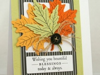 Fall/Thanksgiving - Card/Tags