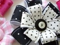 bows, flowers, accessories