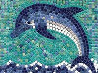 7 Best Images About Dolphin Mosaic On Pinterest Ceramics