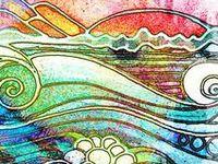 Doodling, Art Journal, zentangles