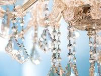 Every room should have a chandelier! The light, the sparkle, the glitter of the crystals... it's all so beautiful.