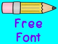 Fonts/Clipart freebies
