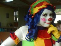 Female Clowns and Mimes