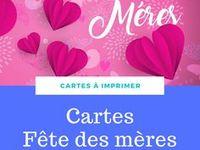 Carte de Vœux-Avec Amour Sur Fête Mères avec représentation de la Notre Dame /& Enfant