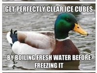 Fun info as well as things that are good to know how to do.  P.S. this duck meme has taught me many a handy thing. listen to him