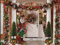 Images about holiday doors on pinterest christmas door front doors