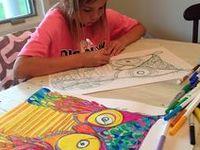 ART CLUB - drawing sheets