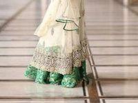 dresses, sarees... ;)