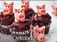 Czekoladowe słodkości / #czekolada #dzieńczekolady #tort #siflet #brownie #muffiny #jedzenie #desery #mniam #kuchnia #food #chocolate